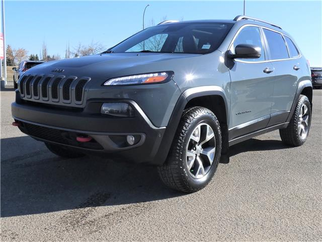 2015 Jeep Cherokee Trailhawk (Stk: VHM074B) in Lloydminster - Image 1 of 20