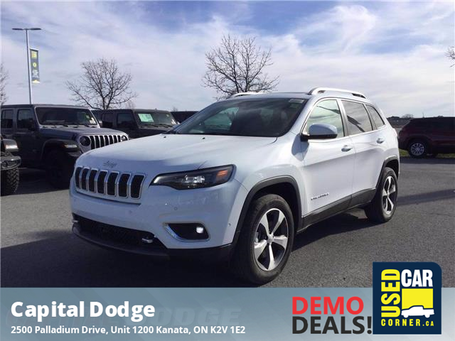2021 Jeep Cherokee Limited (Stk: M00080) in Kanata - Image 1 of 27