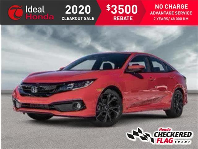 2020 Honda Civic Sport (Stk: I201167) in Mississauga - Image 1 of 21