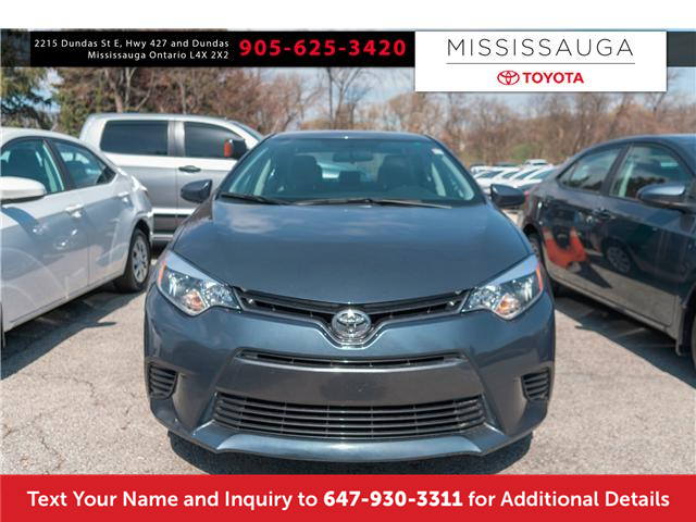 2016 Toyota Corolla LE (Stk: 19613) in Mississauga - Image 2 of 15
