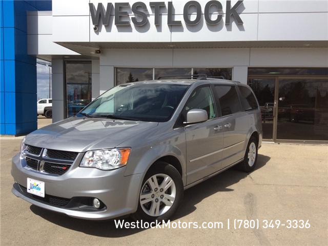 2017 Dodge Grand Caravan Crew (Stk: T1811) in Westlock - Image 1 of 25