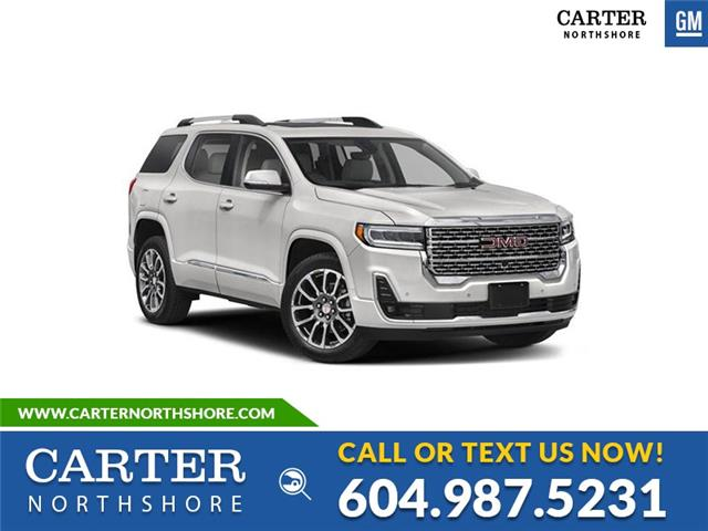 2021 GMC Acadia Denali (Stk: 1A10140) in North Vancouver - Image 1 of 1
