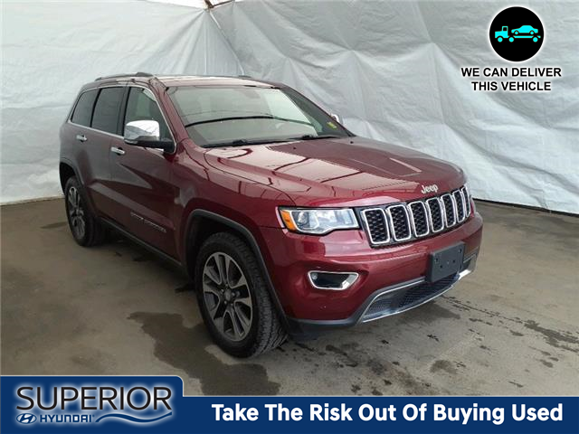 2018 Jeep Grand Cherokee Limited (Stk: 2113231) in Thunder Bay - Image 1 of 18