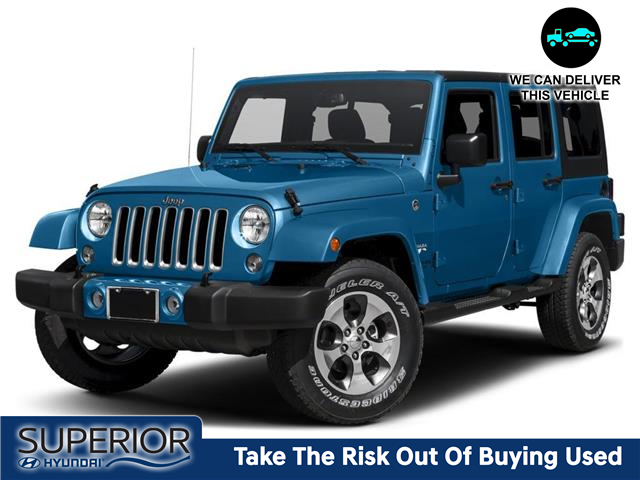 2014 Jeep Wrangler Unlimited Sahara (Stk: 2110041) in Thunder Bay - Image 1 of 9