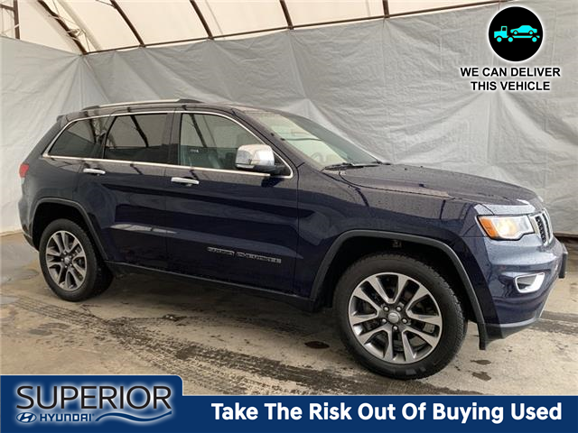2018 Jeep Grand Cherokee Limited (Stk: 2114541) in Thunder Bay - Image 1 of 24