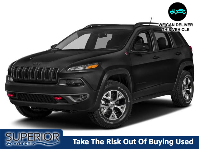 2017 Jeep Cherokee Trailhawk (Stk: 2110761) in Thunder Bay - Image 1 of 10