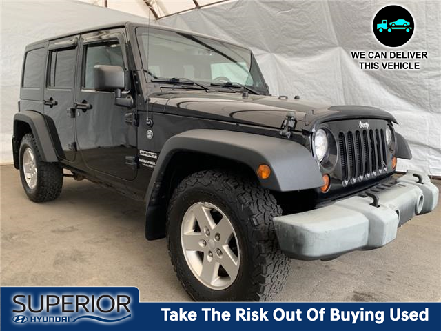 2013 Jeep Wrangler Unlimited Sport (Stk: IU2386) in Thunder Bay - Image 1 of 18
