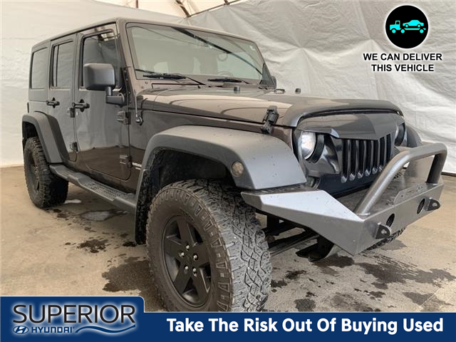 2013 Jeep Wrangler Unlimited Sport (Stk: IU2392) in Thunder Bay - Image 1 of 5