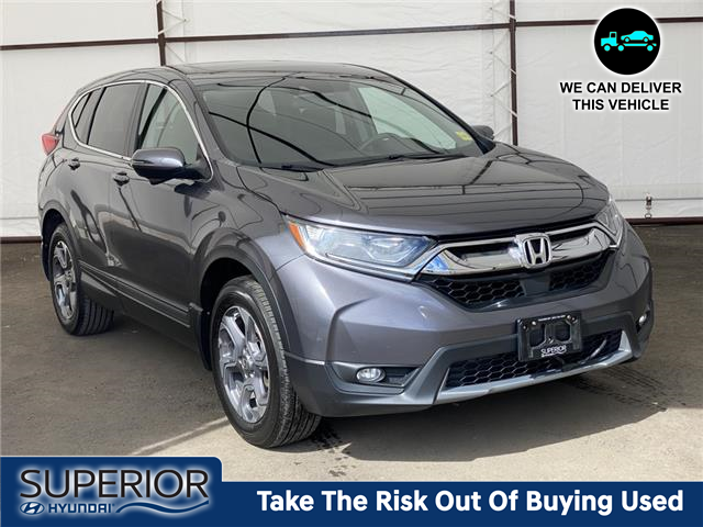 2018 Honda CR-V EX (Stk: 16612A) in Thunder Bay - Image 1 of 18