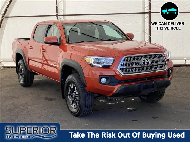 2017 Toyota Tacoma TRD Off Road (Stk: 17714A) in Thunder Bay - Image 1 of 17