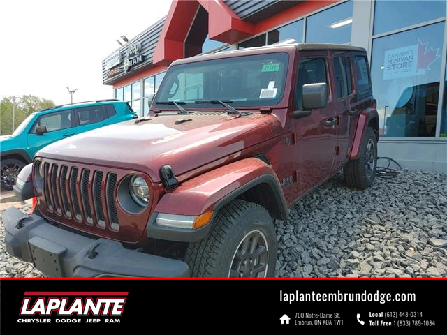2021 Jeep Wrangler Unlimited Sport (Stk: 21148) in Embrun - Image 1 of 16