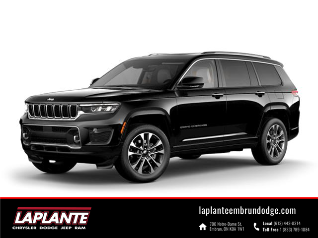 2021 Jeep Grand Cherokee L Overland (Stk: ) in Embrun - Image 1 of 1