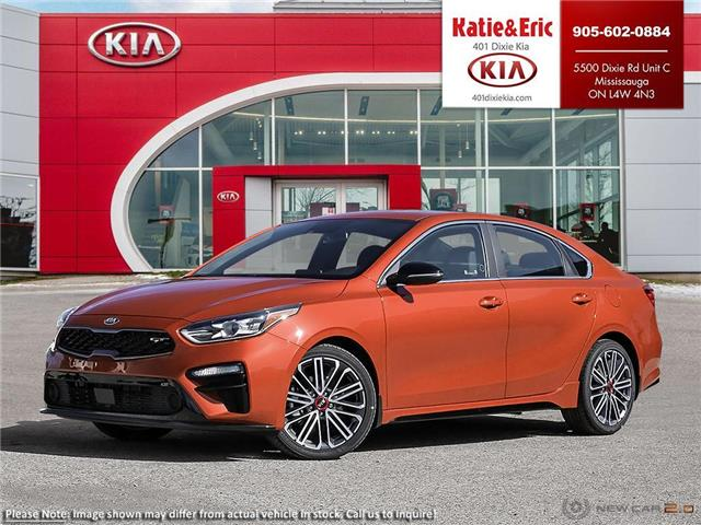 2021 Kia Forte GT Limited (Stk: FO21045) in Mississauga - Image 1 of 25