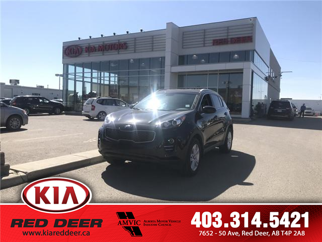 2018 Kia Sportage LX (Stk: 7FT4478A) in Red Deer - Image 1 of 9