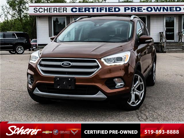 2017 Ford Escape Titanium (Stk: 700150A) in Kitchener - Image 1 of 23