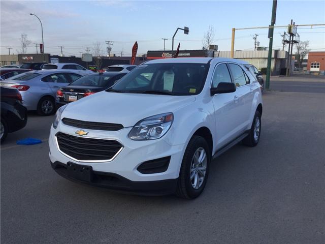 2017 Chevrolet Equinox LS (Stk: D934) in Regina - Image 1 of 15