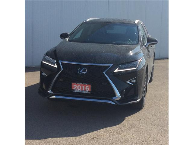 2016 Lexus RX 350 Base (Stk: P4810) in Sault Ste. Marie - Image 1 of 11