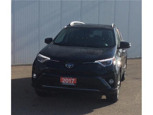 2017 Toyota RAV4 Limited (Stk: P4824) in Sault Ste. Marie - Image 1 of 10