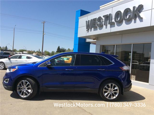 2015 Ford Edge Titanium (Stk: 18T192A) in Westlock - Image 2 of 26