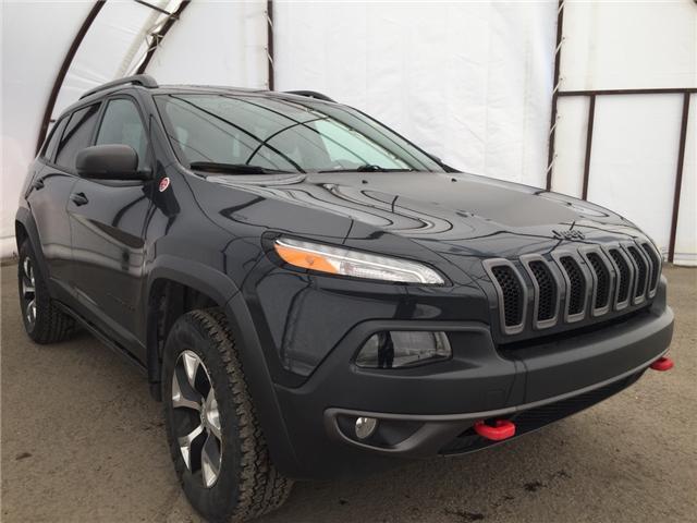 2016 Jeep Cherokee Trailhawk (Stk: R8105A) in Ottawa - Image 1 of 12
