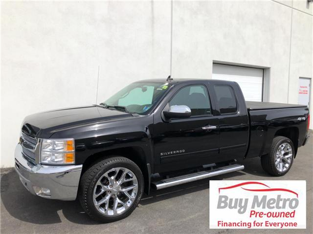 2013 Chevrolet Silverado 1500 LT Ext. Cab 4WD (Stk: p17-161) in Dartmouth - Image 1 of 15