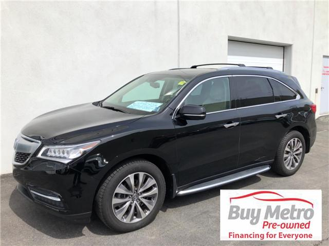 2014 Acura MDX SH-AWD 6-Spd AT w/Tech Package (Stk: p18-005) in Dartmouth - Image 1 of 20
