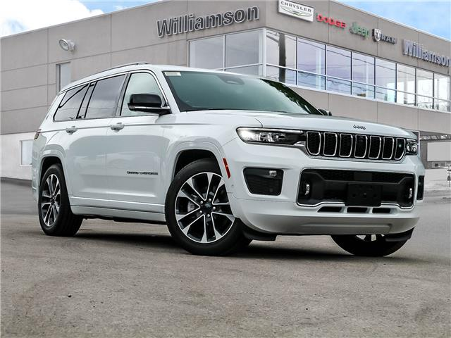 2021 Jeep Grand Cherokee L Overland (Stk: 142-21) in Lindsay - Image 1 of 30