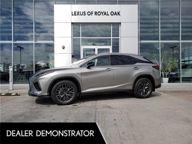 2021 Lexus RX 450h Base (Stk: L21422) in Calgary - Image 1 of 13