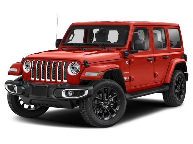 2021 Jeep Wrangler Unlimited 4xe Sahara (Stk: ) in Uxbridge - Image 1 of 9