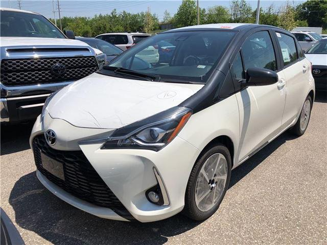 2018 Toyota Yaris SE (Stk: M180854) in Mississauga - Image 1 of 5