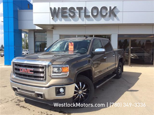 2015 GMC Sierra 1500 SLT (Stk: 17T249A) in Westlock - Image 1 of 27