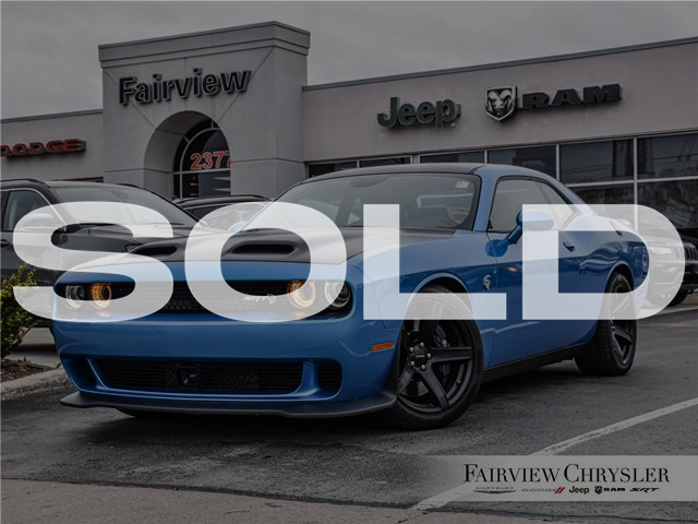 2019 Dodge Challenger SRT Hellcat (Stk: U18539) in Burlington - Image 1 of 32