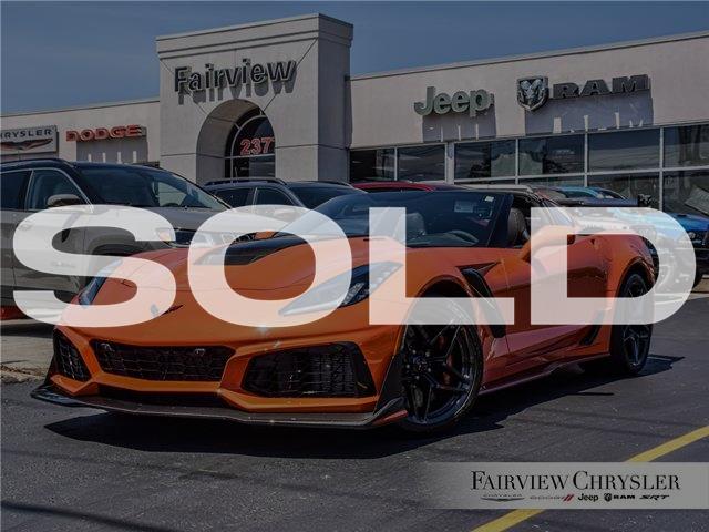 2019 Chevrolet Corvette ZR1 (Stk: U18610) in Burlington - Image 1 of 43
