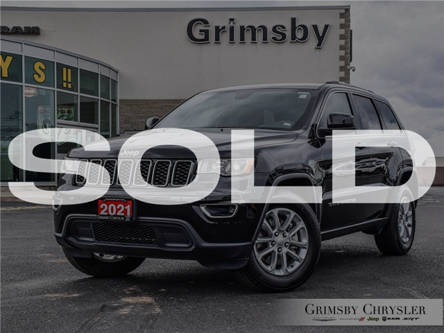 2021 Jeep Grand Cherokee Laredo (Stk: U5130) in Grimsby - Image 1 of 29