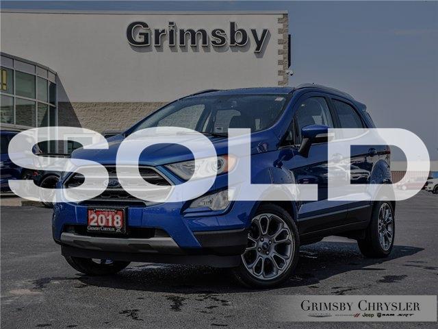 2018 Ford EcoSport Titanium (Stk: U5133) in Grimsby - Image 1 of 29