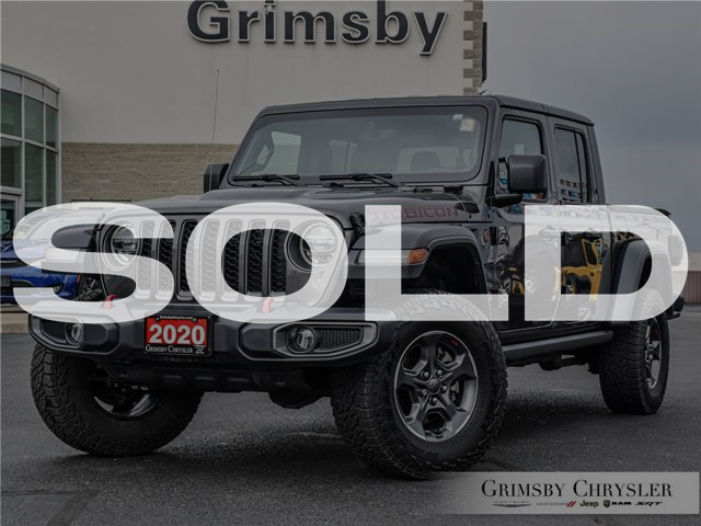 2020 Jeep Gladiator Rubicon (Stk: U5178) in Grimsby - Image 1 of 31
