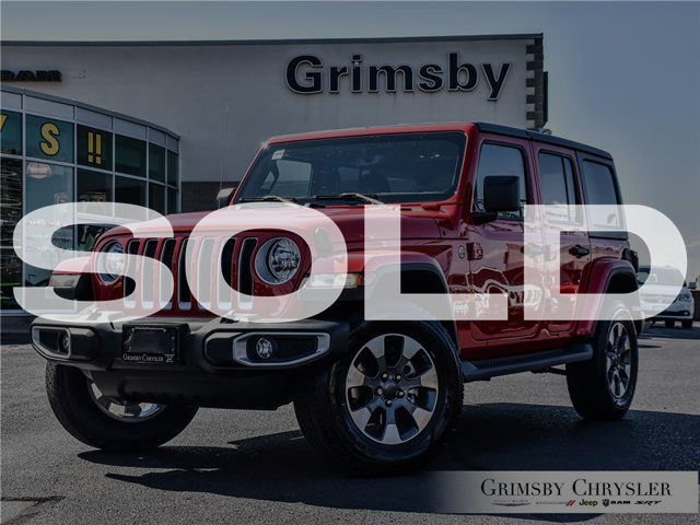 2021 Jeep Wrangler Unlimited Sahara (Stk: N21337) in Grimsby - Image 1 of 31
