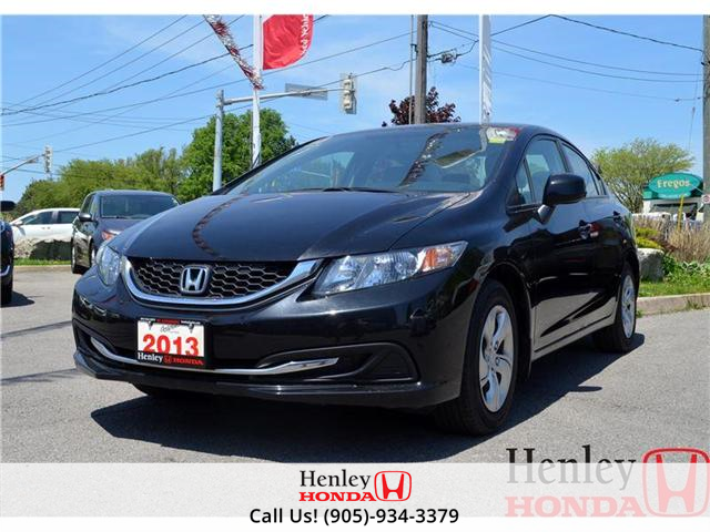 2013 Honda Civic LX (M5) (Stk: B0693) in St. Catharines - Image 1 of 11