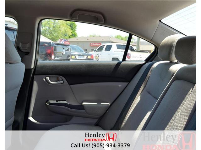 2013 Honda Civic LX (M5) (Stk: B0693) in St. Catharines - Image 11 of 11