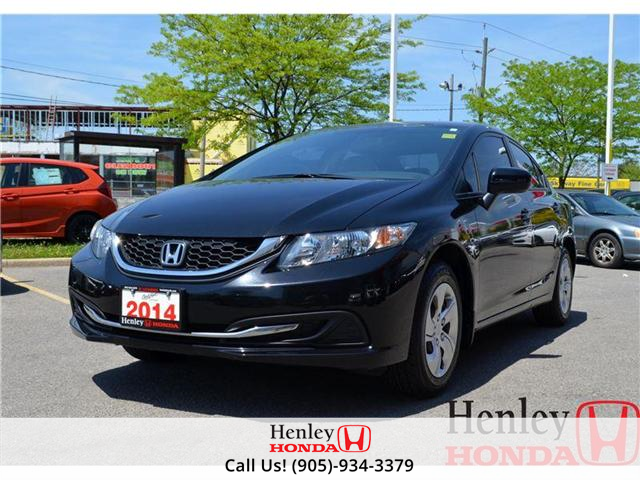 2014 Honda Civic LX BLUETOOTH (Stk: R9105) in St. Catharines - Image 1 of 13