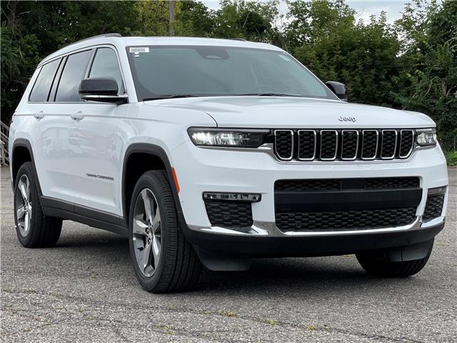 2021 Jeep Grand Cherokee L Limited (Stk: 210357) in Ottawa - Image 1 of 36