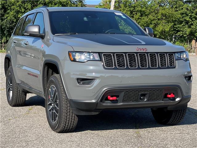 2021 Jeep Grand Cherokee Trailhawk (Stk: 210345) in Ottawa - Image 1 of 45