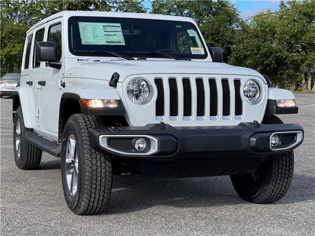 2021 Jeep Wrangler Unlimited Sahara (Stk: 210378) in Ottawa - Image 1 of 45