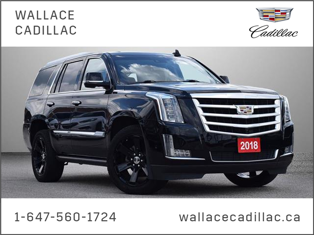 2018 Cadillac Escalade Premium Lux PWR Boards, Black 22's, Clean, 1 Owner (Stk: 1GYS4C) in Milton - Image 1 of 29
