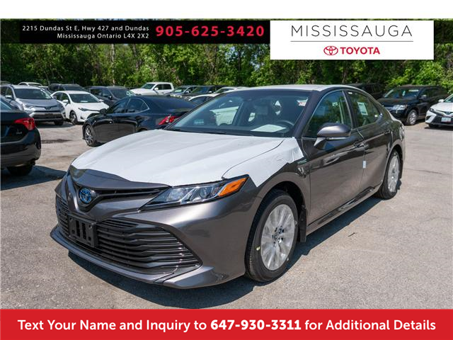 2018 Toyota Camry Hybrid LE (Stk: J4971) in Mississauga - Image 1 of 14