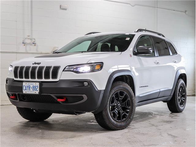 2021 Jeep Cherokee Trailhawk (Stk: 21J011) in Kingston - Image 1 of 30