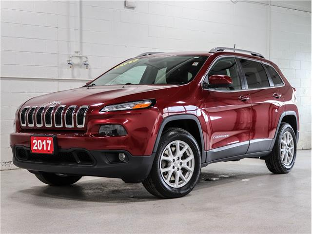 2017 Jeep Cherokee North (Stk: 21J047A) in Kingston - Image 1 of 29