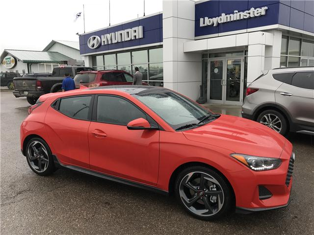 2019 Hyundai Veloster Turbo (Stk: 9VE4538) in Lloydminster - Image 1 of 7
