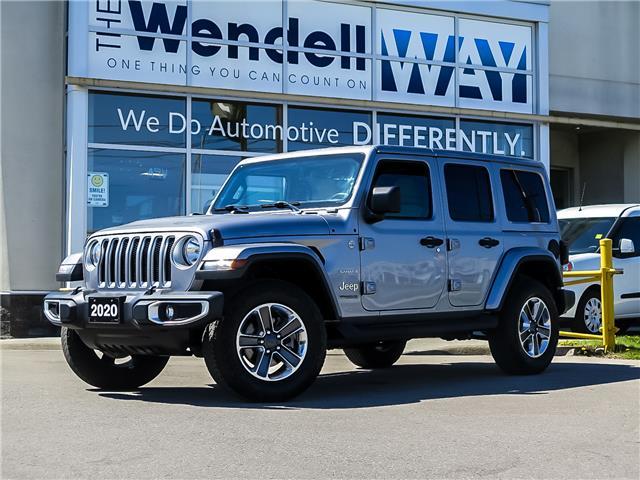 2020 Jeep Wrangler Unlimited Sahara (Stk: 54421) in Kitchener - Image 1 of 24