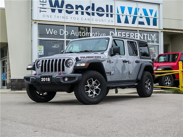 2018 Jeep Wrangler Unlimited Rubicon (Stk: 54530) in Kitchener - Image 1 of 25